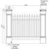 Забор 016-3/02 от 22000р